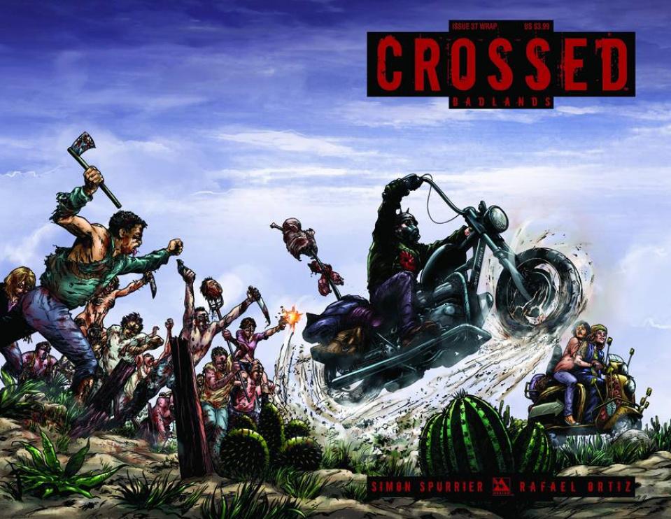 Crossed: Badlands #37 (Wrap Cover)