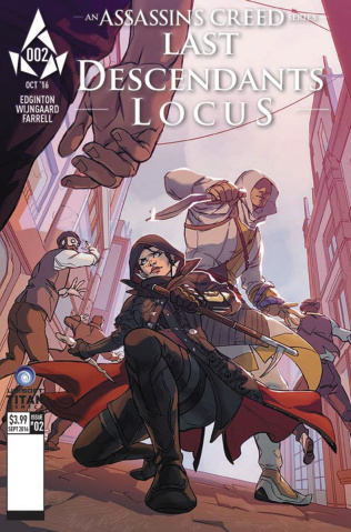 Assassin's Creed: Last Descendants - Locus #2 (Favoccia Cover)