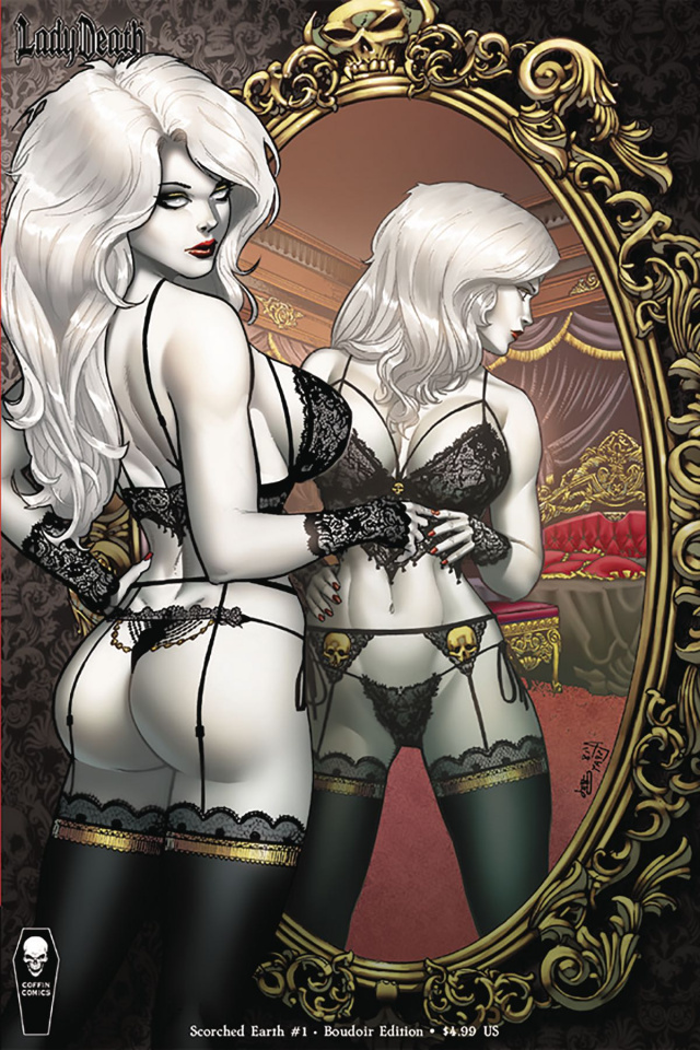 Lady Death: Scorched Earth #1 (Boudoir Cover)