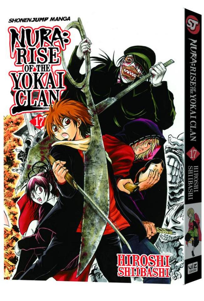Nura: Rise of the Yokai Clan Vol. 17