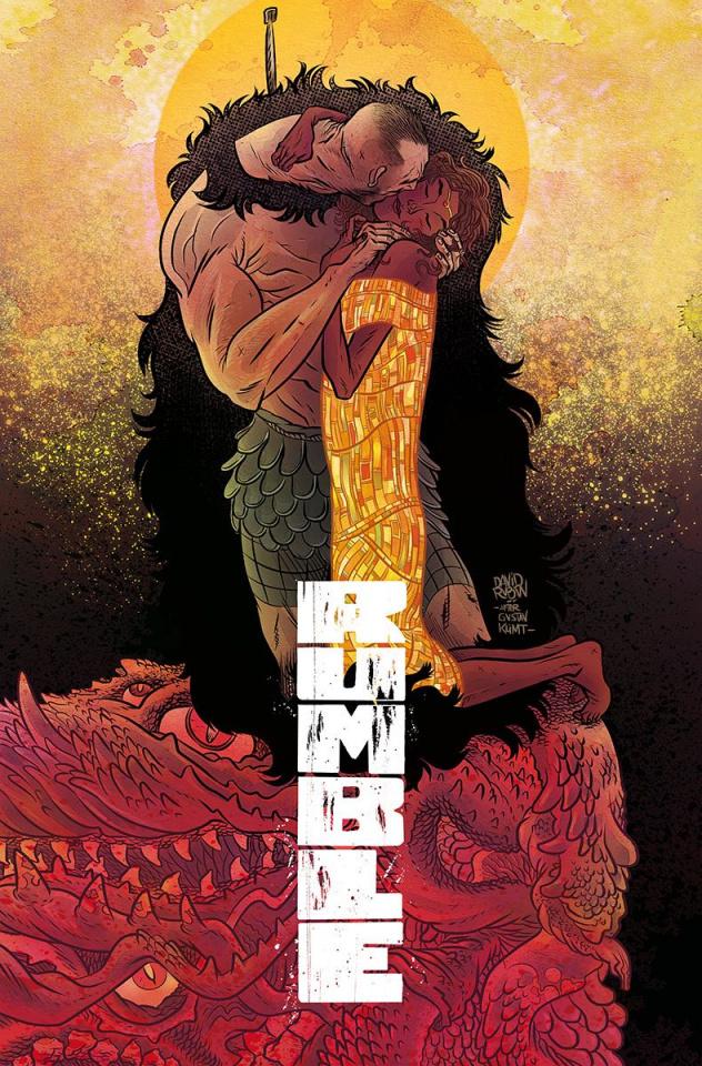 Rumble #8 (Rubin Cover)