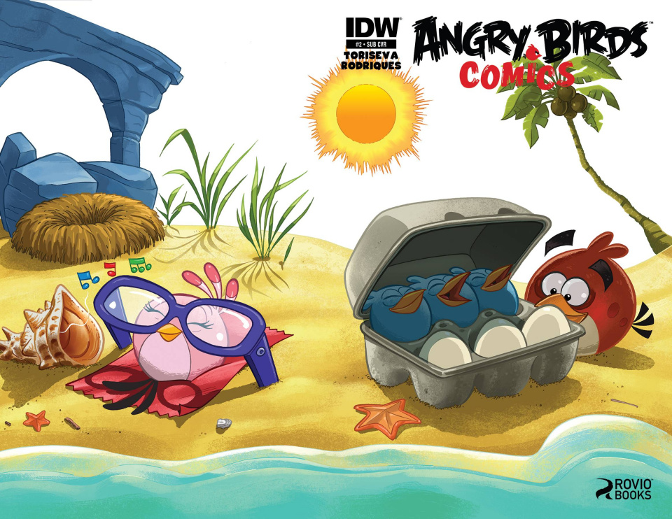 Angry Birds Comics #2 (Subscription Cover)