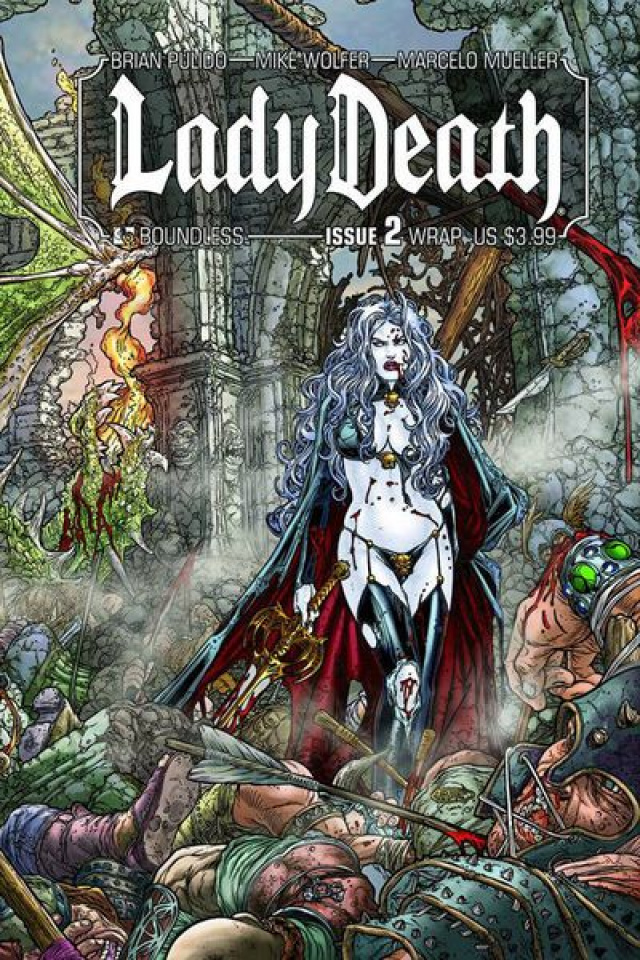 Lady Death #2 (Wrap Cover)
