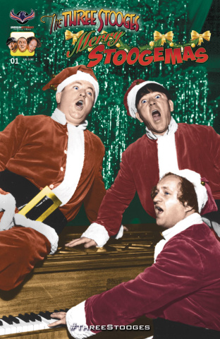 The Three Stooges: Merry Stoogemas (Photo Cover)