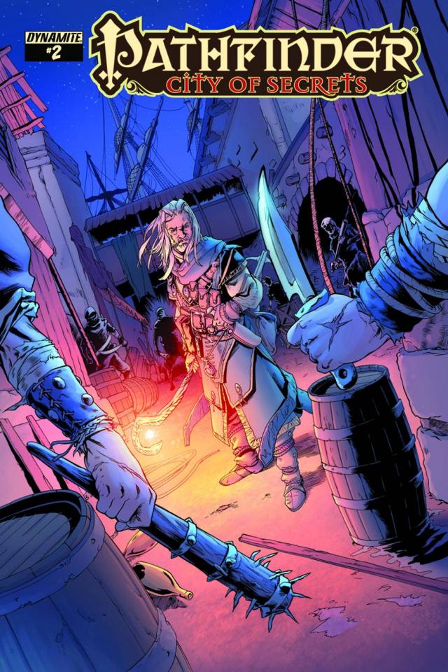 Pathfinder: City of Secrets #2 (Cummings Cover)