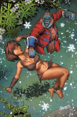 Grimm Fairy Tales: The Jungle Book 2016 Holiday Special (Watson Cover)