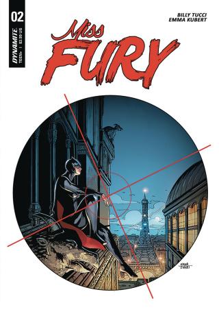 Miss Fury #2 (Kubert Cover)
