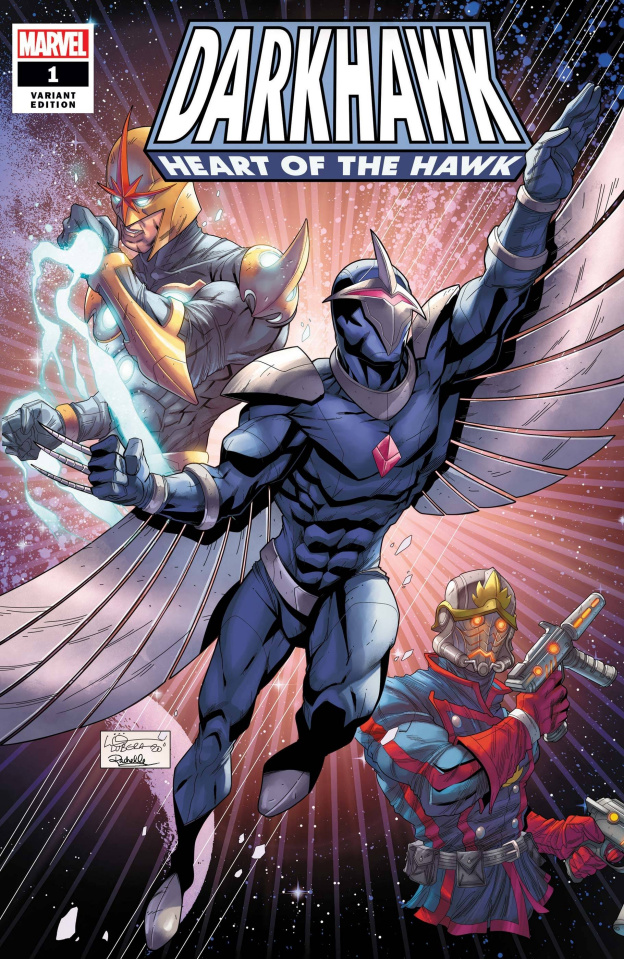 Darkhawk: Heart of the Hawk #1 (Lubera Cover)