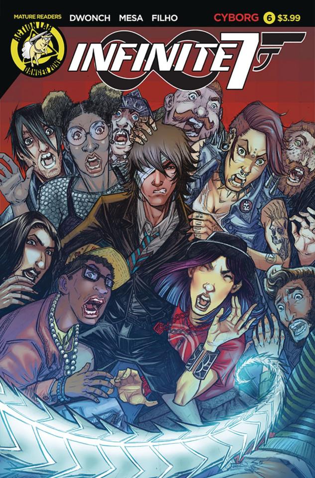 Infinite Seven #6 (Mesa Cover)