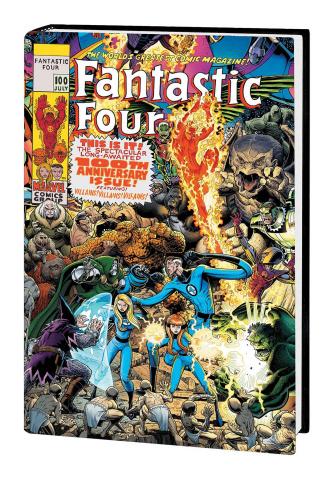 Fantastic Four Vol. 4 (Omnibus Art Adams Cover)
