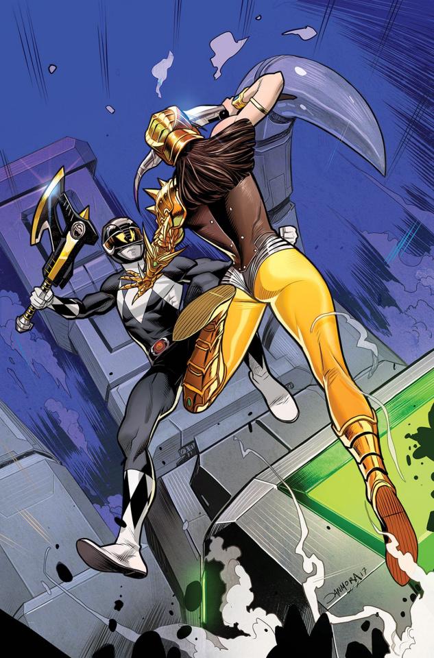 Mighty Morphin' Power Rangers #20 (30 Copy Mora Cover)