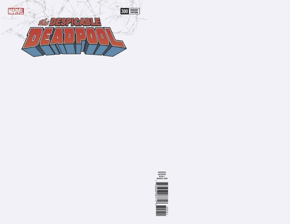 The Despicable Deadpool #300 (Blank Cover)