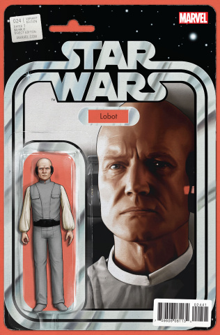 Star Wars #24 (Christopher Action Figure Cover)