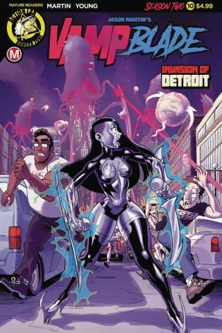 Vampblade, Season Two #10 (Winston Young Cover)
