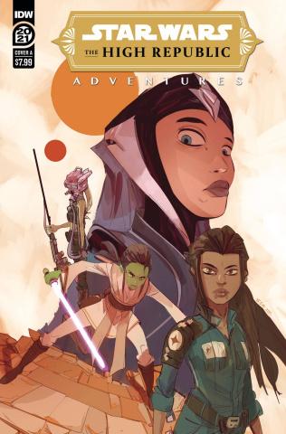 Star Wars: The High Republic Adventures Annual 2021 (Simeone Cover)