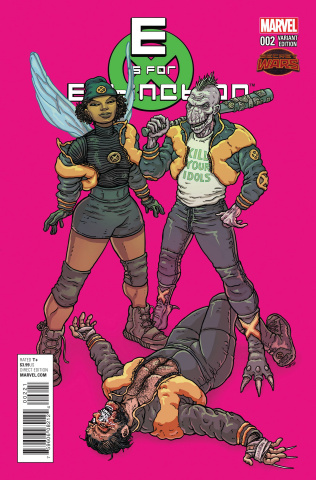 E is for Extinction #2 (Villalobos Cover)