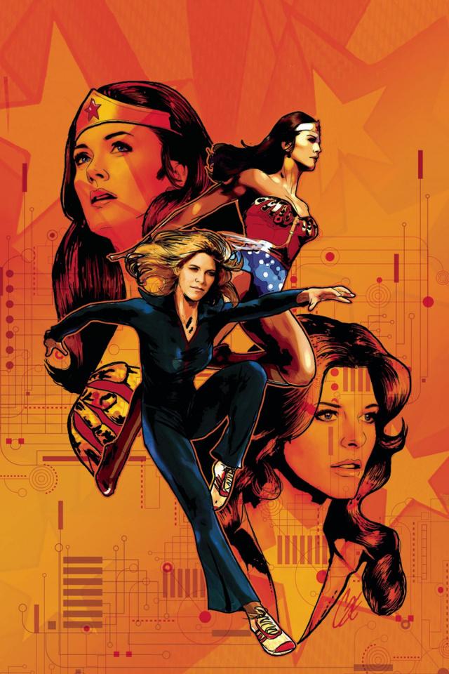 Wonder Woman '77 Meets The Bionic Woman #6 (10 Copy Cover)