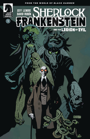 Sherlock Frankenstein and the Legion of Evil #1 (Mignola Cover)