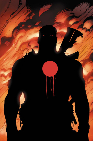 Bloodshot's Day Off #1 (10 Copy Tiesma Cover)