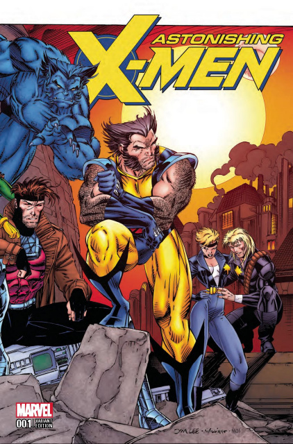 Astonishing X-Men #1 (Jim Lee Remastered Cover)