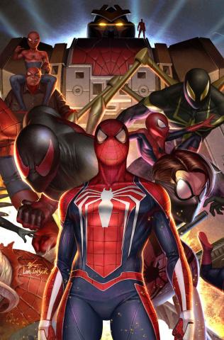 Spider-Geddon #2 (Hyuk Lee Connecting Cover)