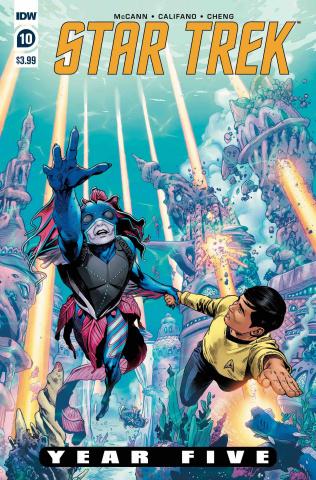 Star Trek: Year Five #10 (Thompson Cover)