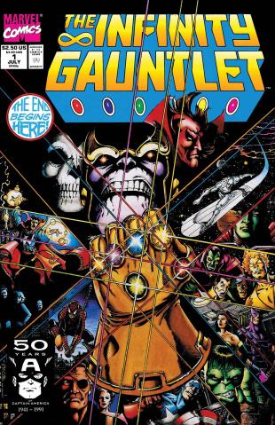 The Infinity Gauntlet #1 (True Believers)