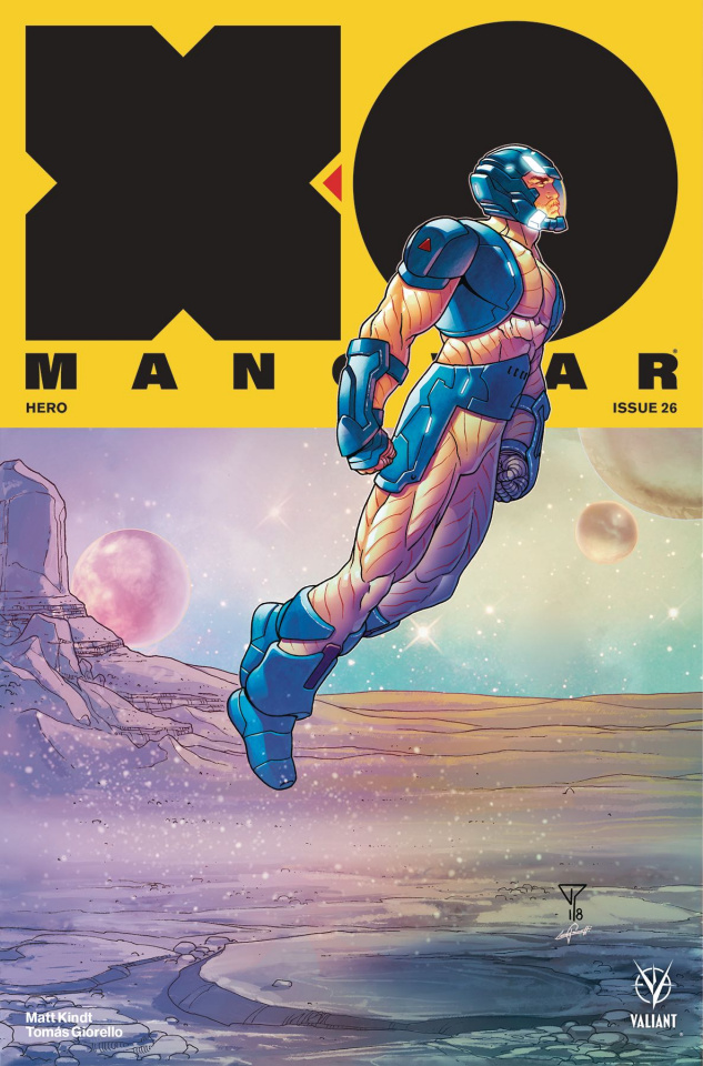 X-O Manowar #26 (20 Copy Portela Interlocking Cover)