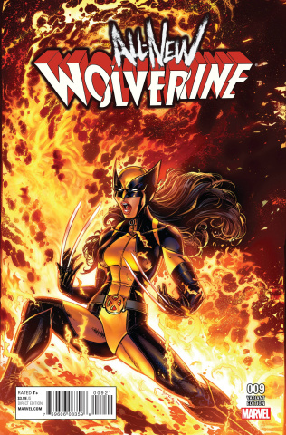 All-New Wolverine #9 (Reenactment Cover)