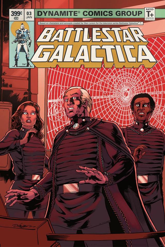 Battlestar Galactica Classic #3 (HDR Cover)