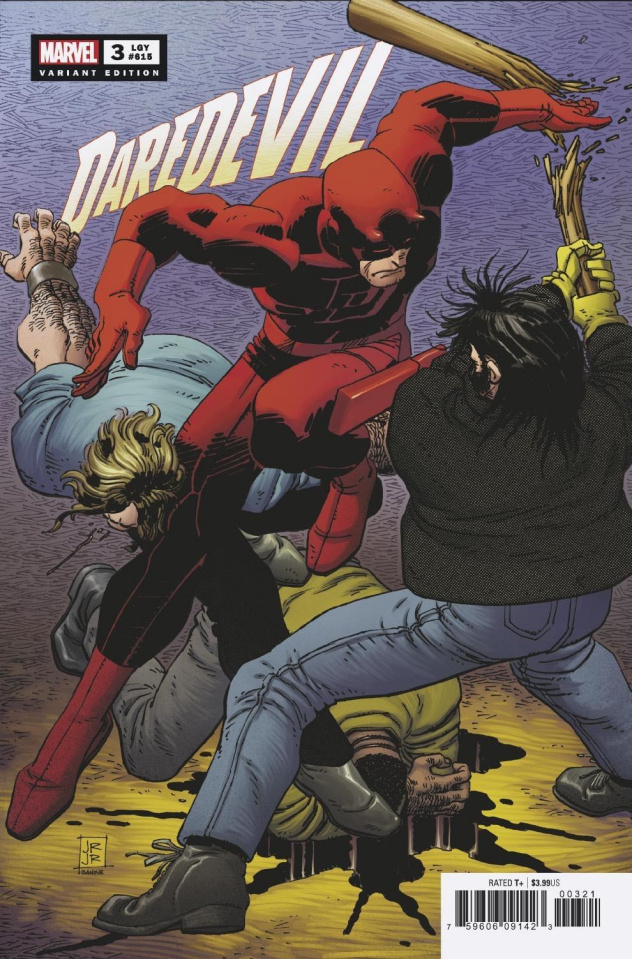 Daredevil #3 (JRJR Hidden Gem Cover)