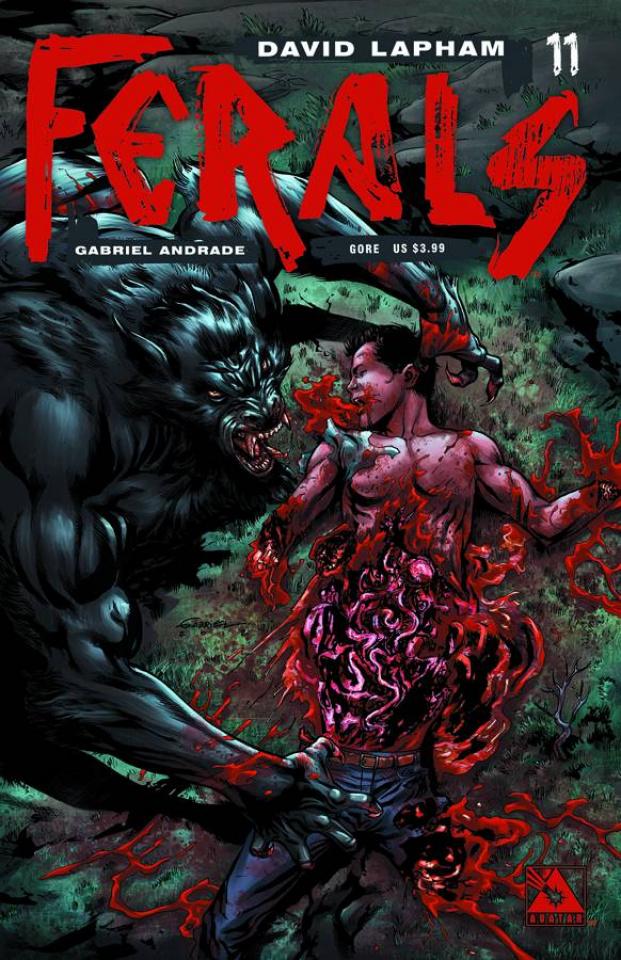 Ferals #11 (Gore Cover)