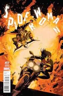 Spider-Woman #13 (Francavilla Cover)