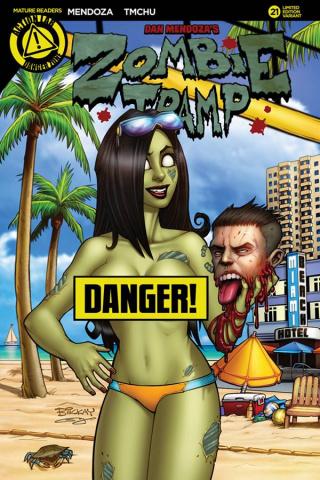 Zombie Tramp #21 (McKay Risque Cover)