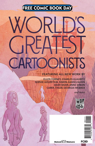 Fantagraphics: Worlds Greatest Cartoonists FCBD 2018 Special