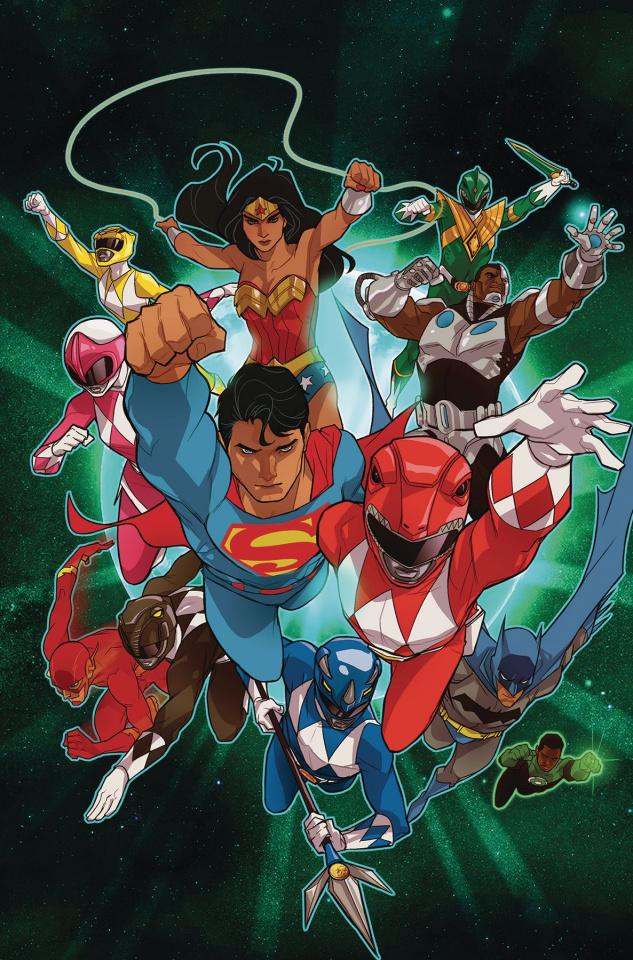 Justice League / Power Rangers #2