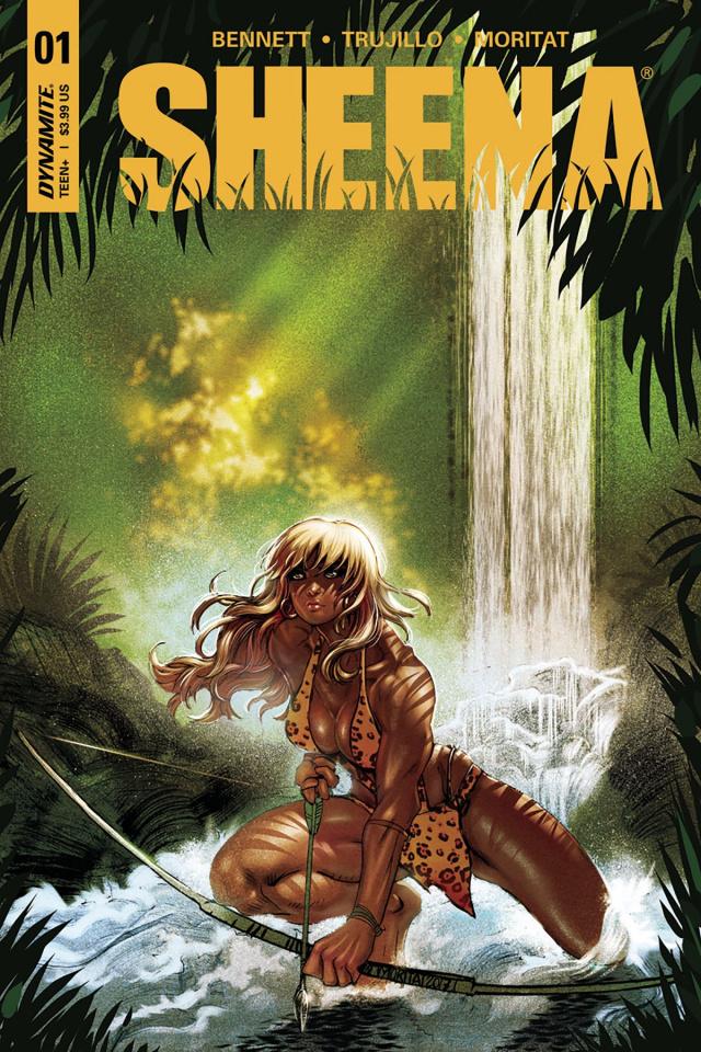 Sheena #1 (Moritat Cover)