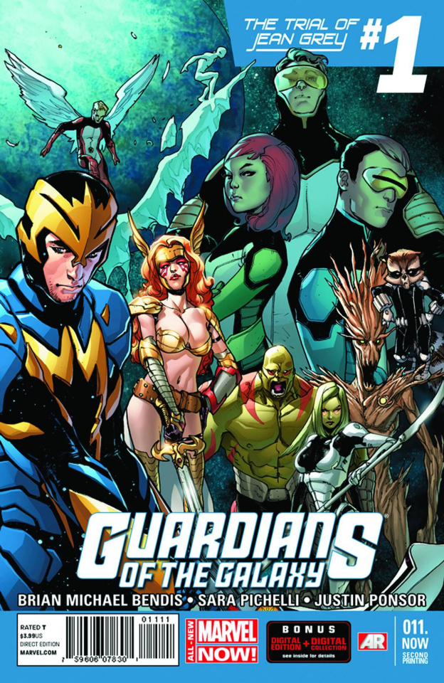 Guardians of the Galaxy #11.Now (2nd Printing)