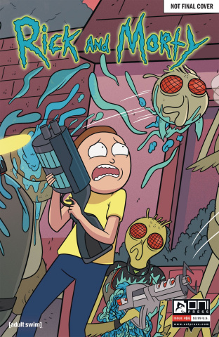 Rick and Morty #4 (50 Issues Special Cover)