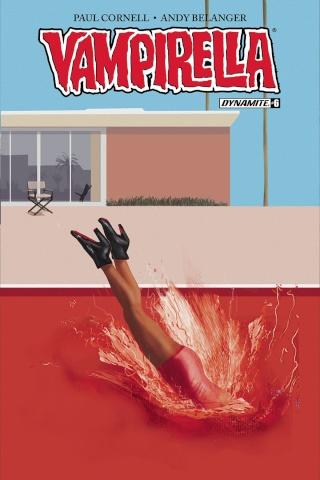 Vampirella #6 (Broxton Subscription Cover)