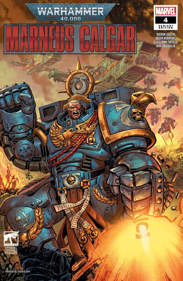 Warhammer 40,000: Marneus Calgar #4 (Luke Ross Cover)