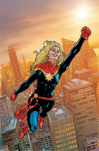 The Amazing Spider-Man #16 (Hawthorne Captain Marvel Cover)