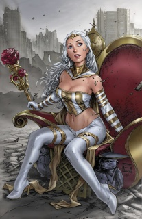 Grimm Fairy Tales: The White Queen #1 (Caldwell Cover)