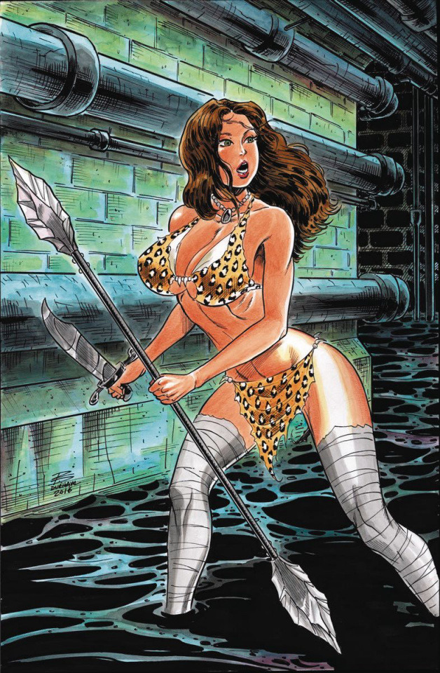 Cavewoman: Leave My Man Alone! #1 (Durham Cover)