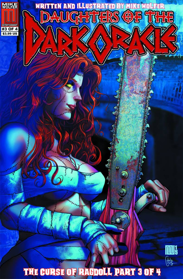 Daughters of the Dark Oracle #3: Curse of the Ragdoll
