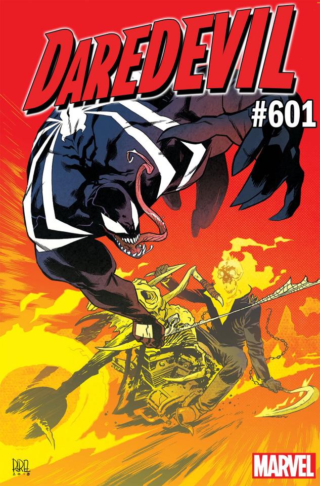 Daredevil #601 (Perez Venom 30th Anniversary Cover)