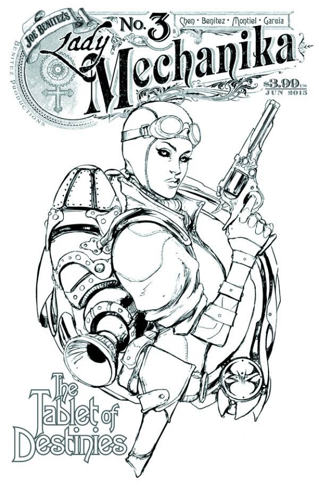 Lady Mechanika: The Tablet of Destinies #3 (10 Copy Cover)