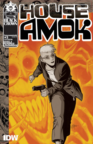 House Amok #3 (McManus Cover)