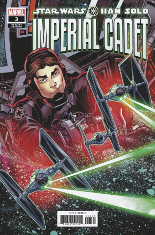 Star Wars: Han Solo, Imperial Cadet #3 (Nauck Cover)