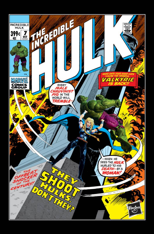 Hulk #7 (Hasbro Cover)